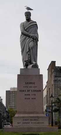 Duke of Gordon, Aberdeen, Scotland (accessorised with a seagull)