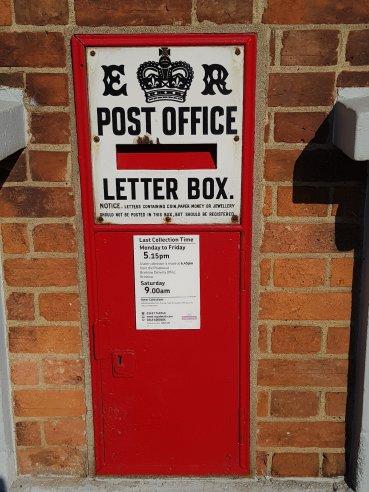 Edward VII Ludlow wall box