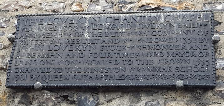 Lovekyn Chapel, Kingston Upon Thames