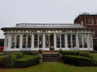The Orangery in the gardens of Bushy House