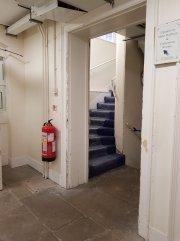 Basement staircase of Bushy House