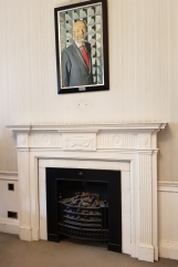 Fireplace in the Conference Room of Bushy House