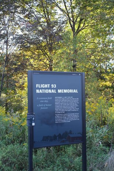 Flight 93 Memorial Field, Shanksville Pensylvania