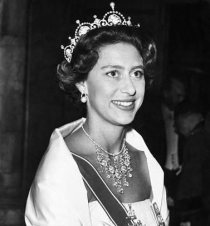 Princess Margaret wore the tiara on many occasions