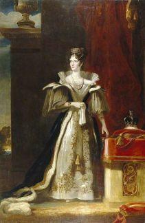 Queen Adelaide, consort of William IV (Photo: Pinterest)