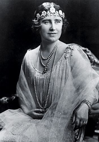 The Duchess of York wearing the Strathmore Rose Tiara, given to her by her father on the occasion of her marriage to the Duke of York
