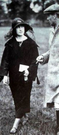 Elizabeth and Bertie, early 1923
