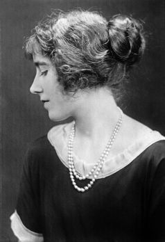 Elizabeth Bowes-Lyon, later Queen Elizabeth the Queen Mother