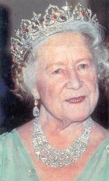 Queen Elizabeth the Queen Mother wearing the Oriental Circlet Tiara