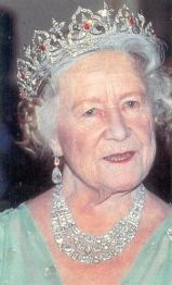 Queen Elizabeth the Queen Mother wearing the Oriental Circlet Tiara