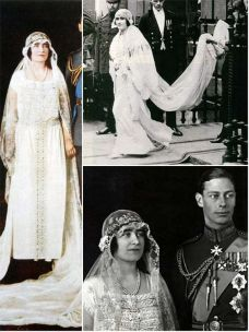 The wedding of Elizabeth Bowes-Lyon and Albert, Duke of York, 23 April 1923