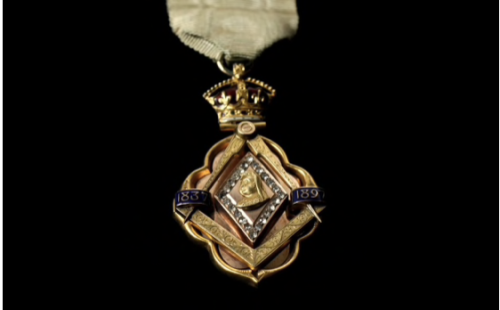 Queen Victoria Diamond Jubilee Masonic Badge