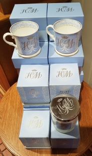 Official souvenirs from Windsor Castle for the wedding of Prince Harry to Meghan Markle