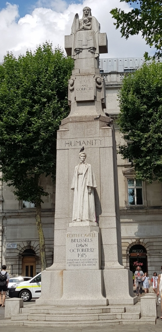 Edith Cavell statue, London