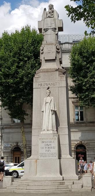 Edith Cavell statue, London