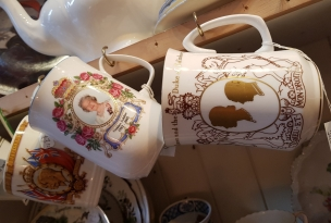 Royal commemorative mugs