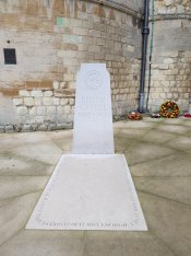 The grave of Edith Cavell, Norwich Cathedral