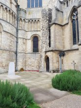 Edith Cavell's grave, Norwich Cathedral