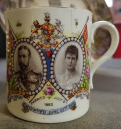 Commemorating the coronation of King George V and Queen Mary June 1911