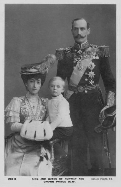 King Haakon and Queen Maud