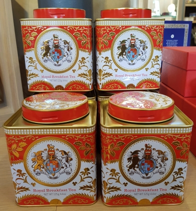 Royal Breakfast Tea - a perfect cuppa for Christmas morning £9.99)
