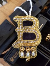 B for Boleyn - Anne Boleyn's iconic necklace recreated as a Christmas decoration (£12.99)