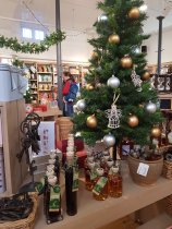 Cherry Brandy, Elderberry and Port liqueur and Ginger Liqueur - will these tempt you after Christmas dinner?