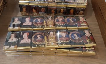 After dinner mints for the Tudor historian (£4.50)