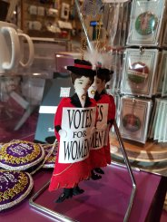 Suffragette hanging decoration