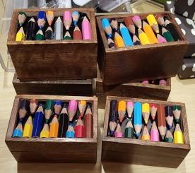 Recycled pencils Trinket box £5.50