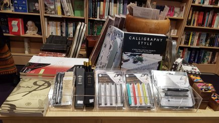 Calligraphy selection