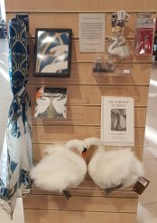 Swan gifts at the National Archives