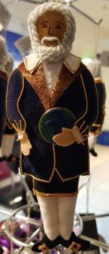 Embroidered Galileo