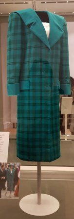 Diana wore this Emmanuel coat to mixed reviews in 1985