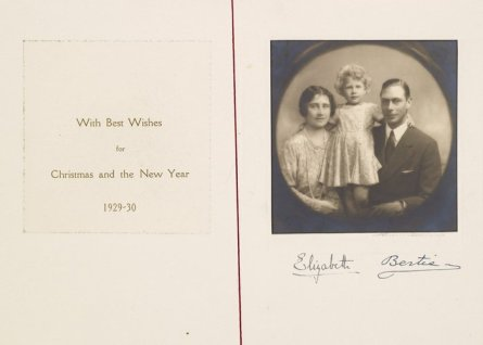 Duke and Duchess of York Christmas 1929