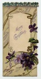 Christmas Card circa 1900