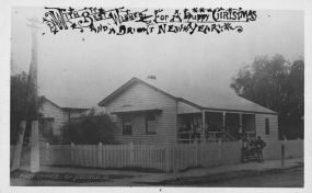 Christmas card dated to 1905 from Queensland, Australia