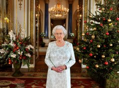 Queen Elizabeth II, Christmas 2017