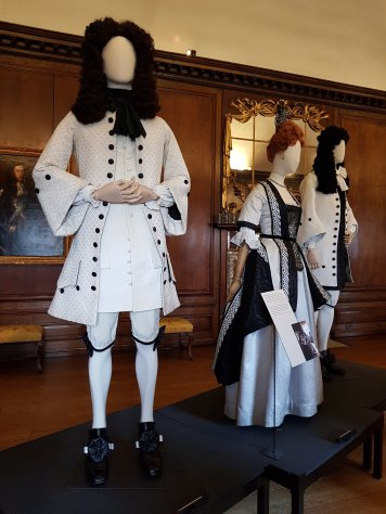 Costumes from The Favourite