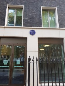 Sir Rowland Hill, blue plaque