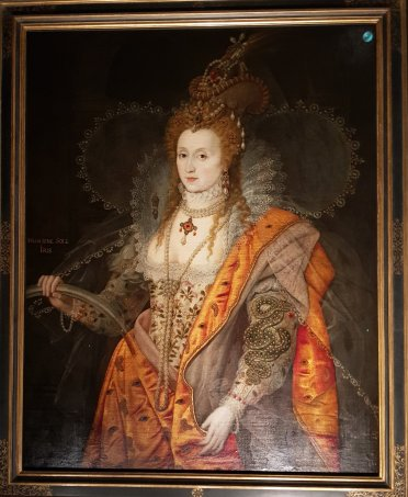 Queen Elizabeth I, The Rainbow Portrait, 1600 -02 attributed to Marcus Gheeraerts the Younger and Isaac Oliver